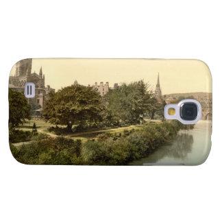 Abadía del baño, baño, Somerset, Inglaterra Funda Para Galaxy S4
