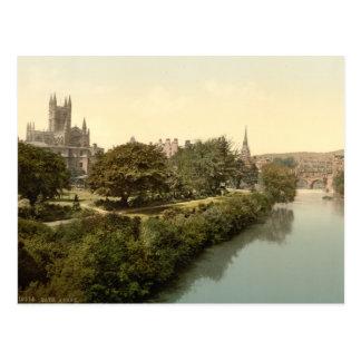 Abadía del baño, baño, Somerset, Inglaterra Tarjetas Postales