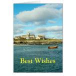 Abadía Escocia de Iona Felicitación