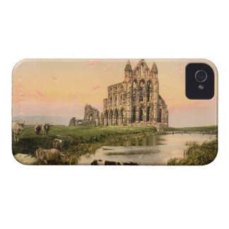 Abadía III, Whitby, Yorkshire, Inglaterra de iPhone 4 Fundas