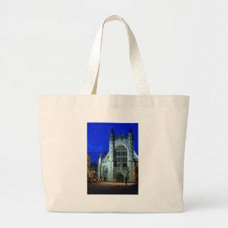 Abadía y violinista del baño bolsas de mano