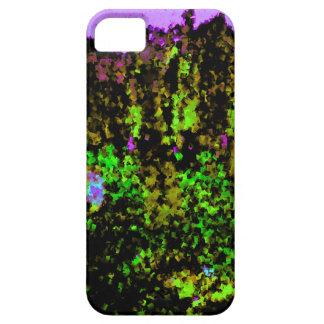 Abadías púrpuras iPhone 5 carcasas