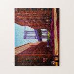 Abajo bajo paso superior del puente de Manhattan Puzzles Con Fotos