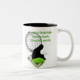 Abajo con la barrera linguística - taza