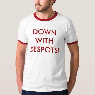 ¡Abajo con los déspotas! Poleras