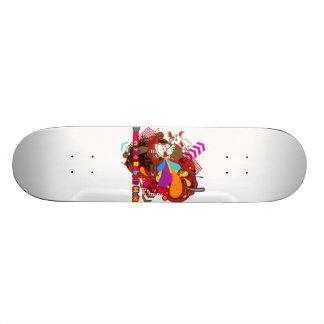 Abajo de la madriguera de conejo skate board