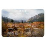 Abajo de la montaña; Calendario 2012 Imán Rectangular