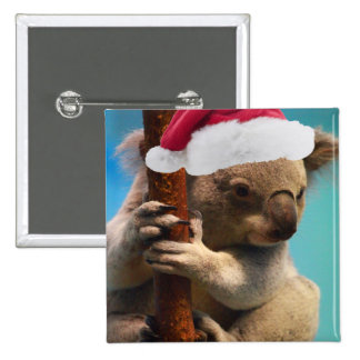 Abajo debajo de koala del navidad pins