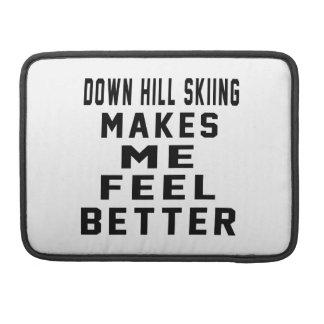 Abajo el esquí de la colina hace que siente mejor fundas para macbook pro