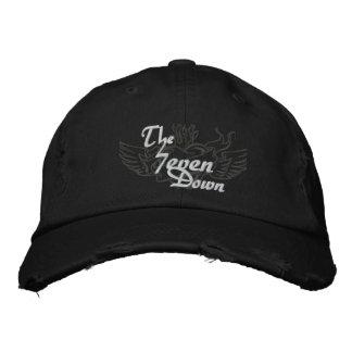 Abajo el gorra 7even gorra de béisbol bordada
