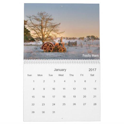 Abajo en la granja - calendario 2013