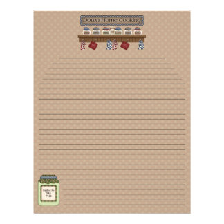 Abajo la receta de la cocina casera pagina 2 (alin plantilla de membrete