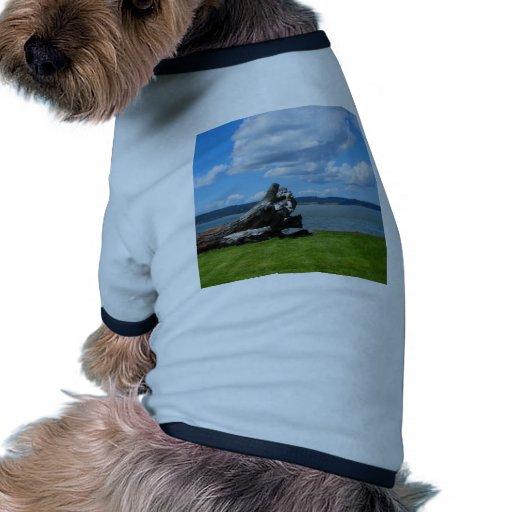 Abajo por el mar ropa de perros