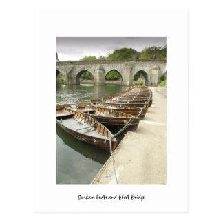 Abajo por el río tarjetas postales