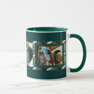 Abalone and Sea Petals Tea Cozy Mug 2