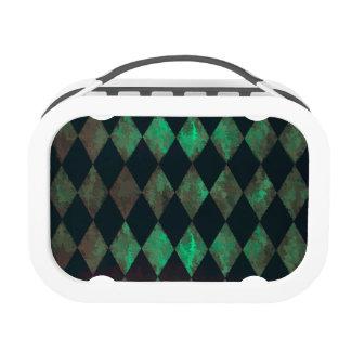 Abalone Argyle Design Yubo Lunchbox