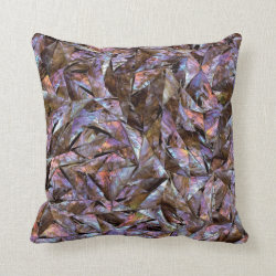 Abalone Chips Throw Pillow
