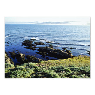 Abalone Fishing At Tomales Point 5x7 Paper Invitation Card