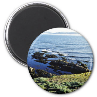 Abalone Fishing At Tomales Point Refrigerator Magnet