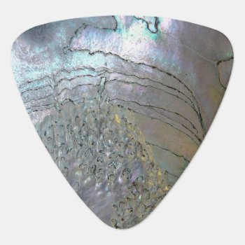 Abalone Guitar Pick by The_Pick_Place at Zazzle