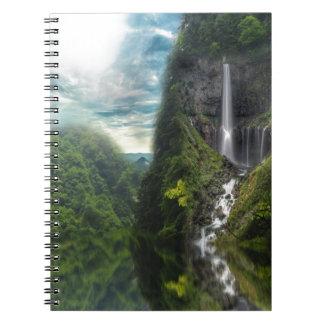 Abalone Lake Spiral Notebook