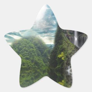 Abalone Lake Star Sticker