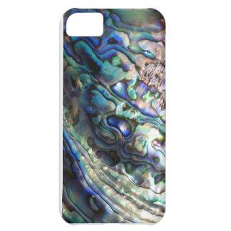 Abalone paua green blue kiwiana seashell iPhone 5C cover