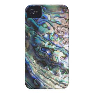 Abalone paua green blue kiwiana seashell iPhone 4 case