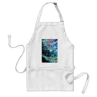 Abalone paua shell adult apron