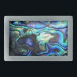 """Abalone paua shell belt buckle<br><div class=""""desc"""">Abalone paua shell detail</div>"""