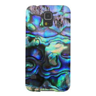 Abalone paua shell case for galaxy s5