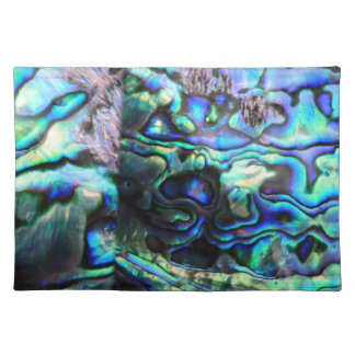 Abalone paua shell detail placemat