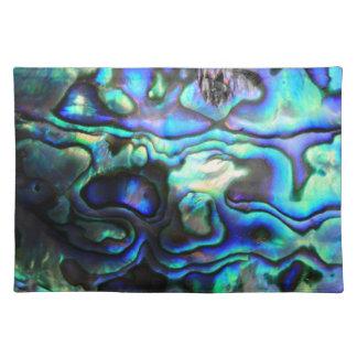 Abalone paua shell placemat