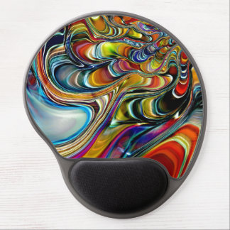 Abalone Shell Abstract Gel Mouse Pad