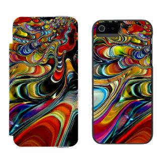 Abalone Shell Abstract Incipio Watson™ iPhone 5 Wallet Case