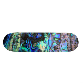 Abalone shell beautiful paua detail skateboard deck