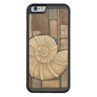 Abalone Shell Carved Maple iPhone 6 Bumper Case