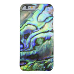 Abalone shell green blue paua iPhone 6 case