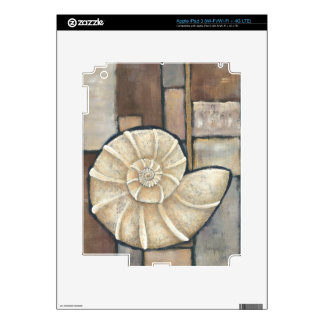 Abalone Shell iPad 3 Decals