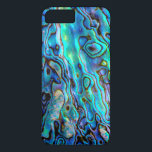 "Abalone shell iPhone 8 plus/7 plus case<br><div class=""desc"">Incredible and precious abalone paua shell (faux) for an original and trendy gift.</div>"
