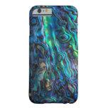 Abalone shell Mermaid iridescent iPhone case