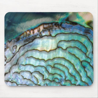 Abalone Shell, Mouse Pad