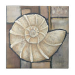 Abalone Shell Small Square Tile