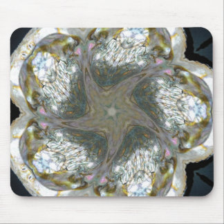 Abalone Shell Star Jan 2013 Mouse Pad