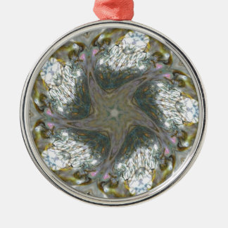 Abalone Shell Star Jan 2013 Christmas Ornaments