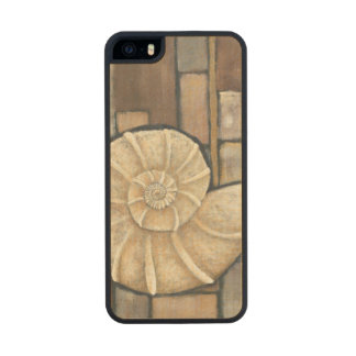 Abalone Shell Carved® Maple iPhone 5 Case