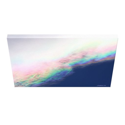 Abalone Sky Canvas Print