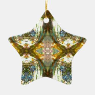 Abalone Star Ornament