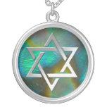 star of david, magen david, necklace, pendant,