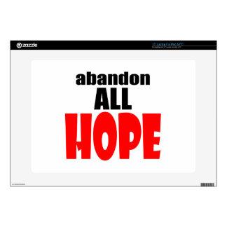 ABANDON all hope abandonallhope marine torpedo lau Laptop Decal